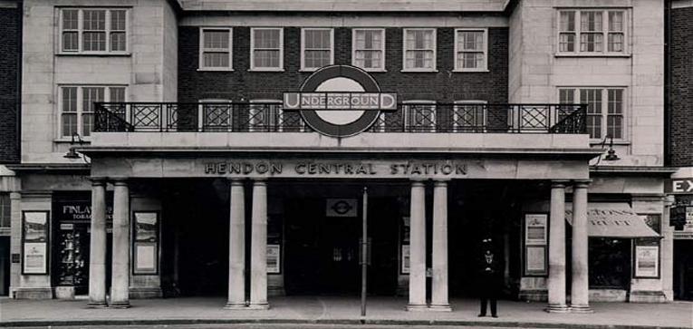 Hendon Central Station